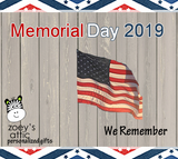 Memorial Day Weekend 2019