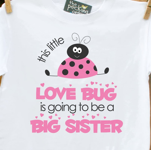 Unique Big Sister To Be Shirts Personalized Big Sister Outfit