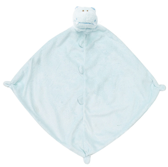 Blue Hippo Blankie Lovie by Angel Dear