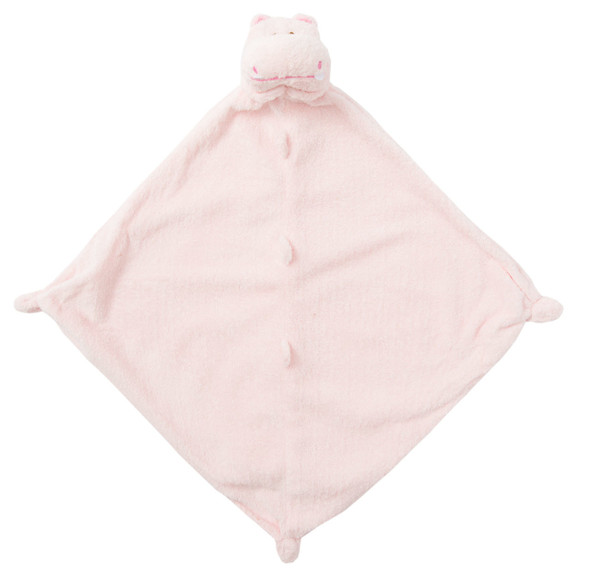 Pink Hippo Blankie Lovie by Angel Dear