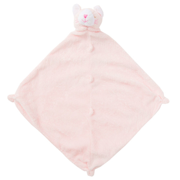 Pink Kitty Blankie Lovie by Angel Dear