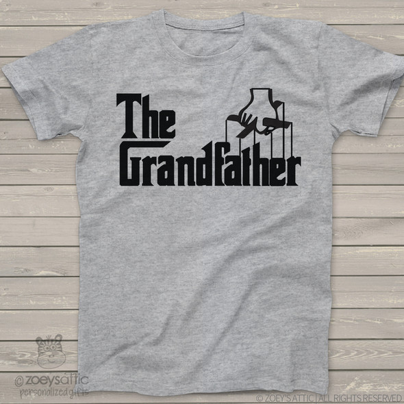 "Grandpa shirt funny parody ""The Grandfather"" custom Tshirt"