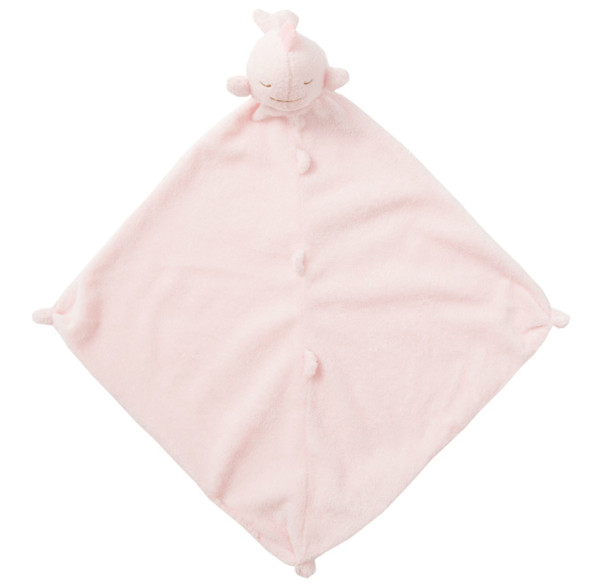 Pink Whale Blankie Lovie by Angel Dear