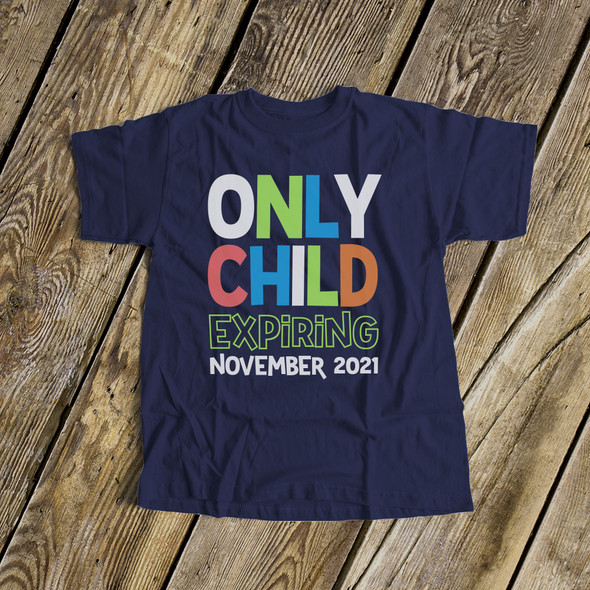Big brother only child expiring DARK Tshirt