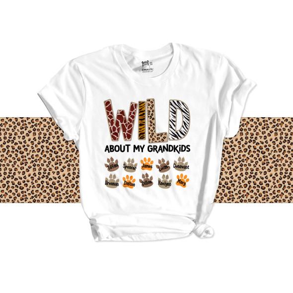 Wild about grandkids Tshirt