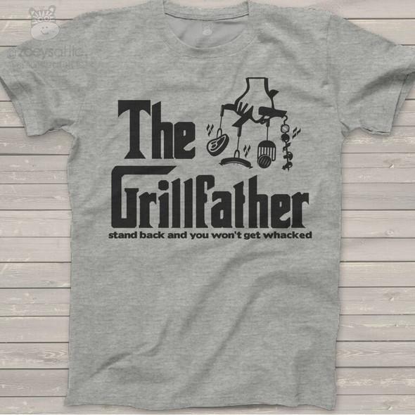 The Grillfather custom Tshirt