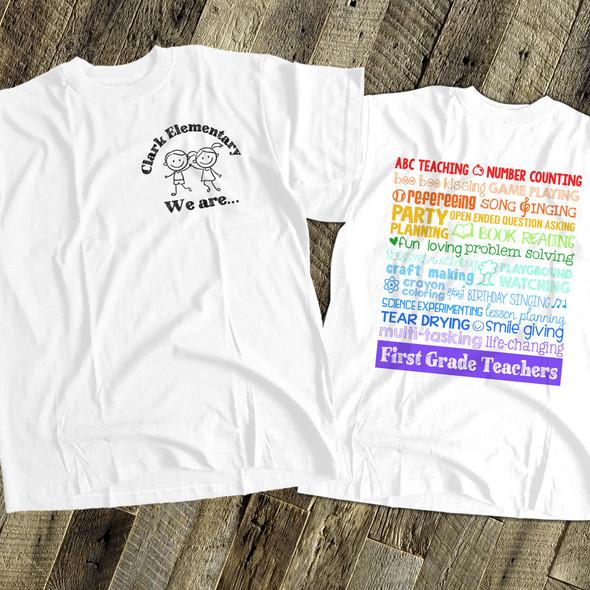 Team teacher superpowers Tshirt