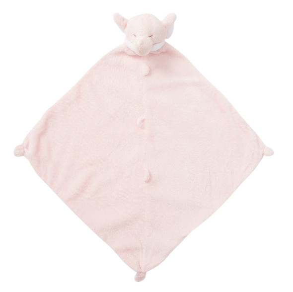 Pink Elephant Blankie Lovie by Angel Dear