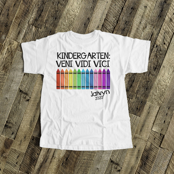 Kindergarten graduation veni vidi vici Tshirt