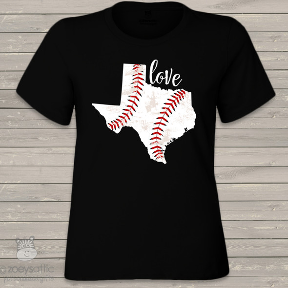 Home state baseball DARK Tshirt