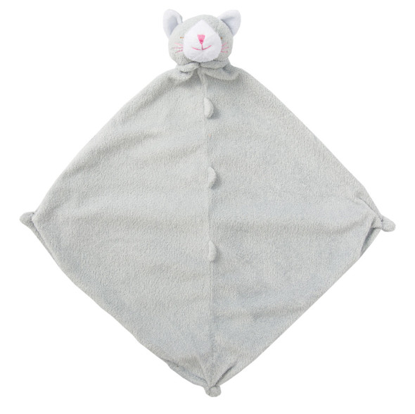 Grey Kitty Blankie Lovie by Angel Dear