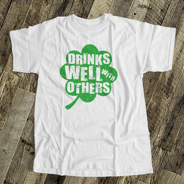 St. Patrick's Day drinks well with others shirt