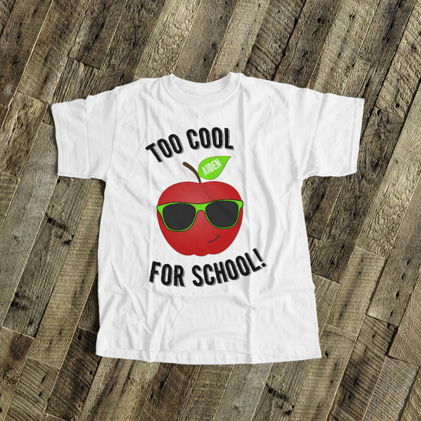 Too cool for school Tshirt