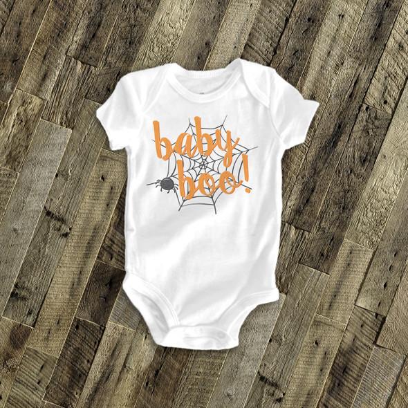 Halloween baby boo bodysuit