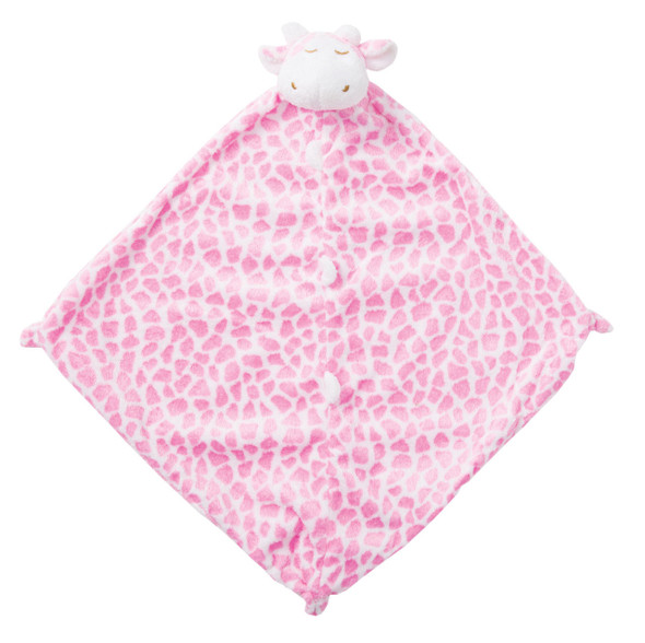 Pink Giraffe Blankie Lovie by Angel Dear
