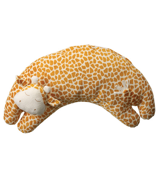 Giraffe Curved Pillow by Angel Dear