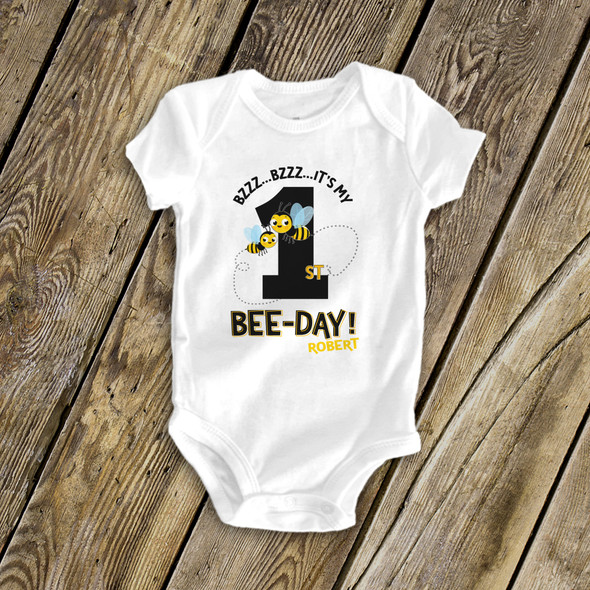 It's my bee-day birthday shirt