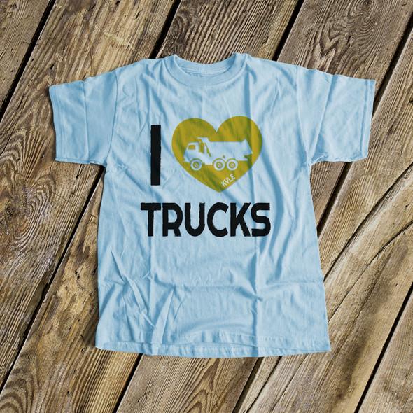 I heart trucks Tshirt