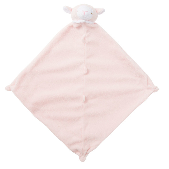 Pink Lamb Blankie Lovie by Angel Dear