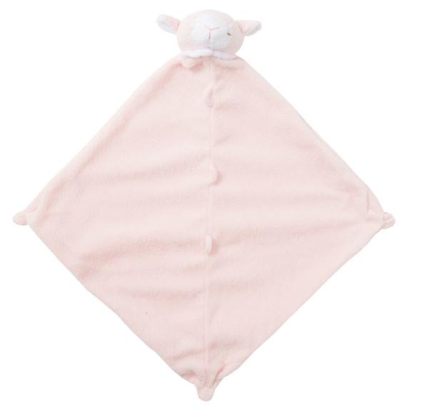 Pink Lamb Blankie Lovie by Angel Dear