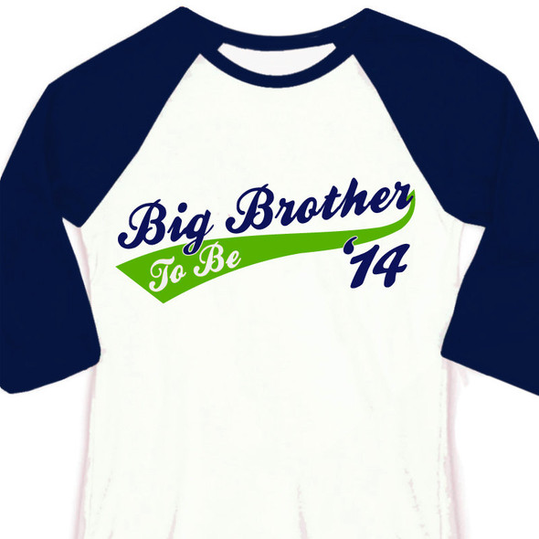 Big brother to be team pregnancy announcement raglan Tshirt