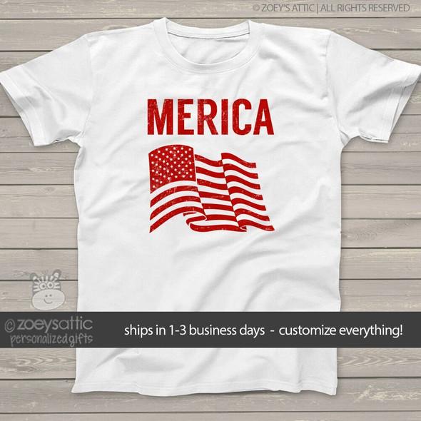 American flag merica  Tshirt