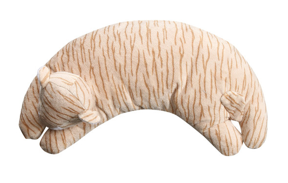 Tiger Curved Pillow by Angel Dear