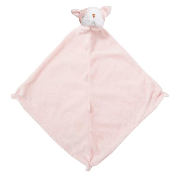 Pink Bulldog Blankie Lovie by Angel Dear