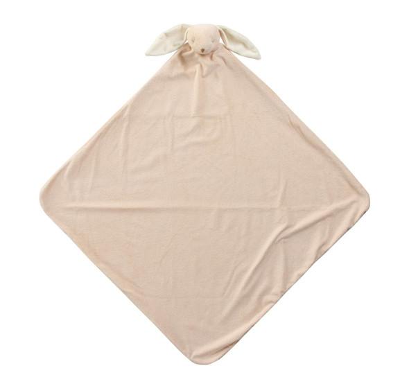 Beige Bunny Napping Blanket by Angel Dear