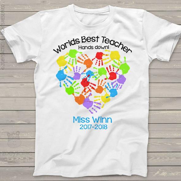 Worlds best teacher hands down Tshirt