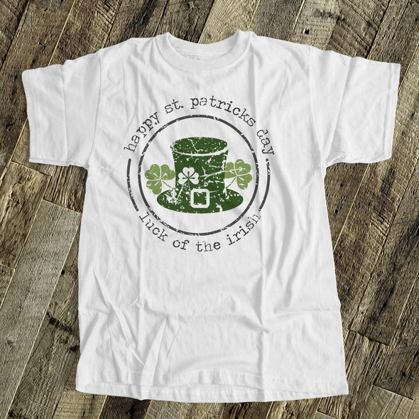 St. Patrick's Day luck of the irish adult unisex Tshirt