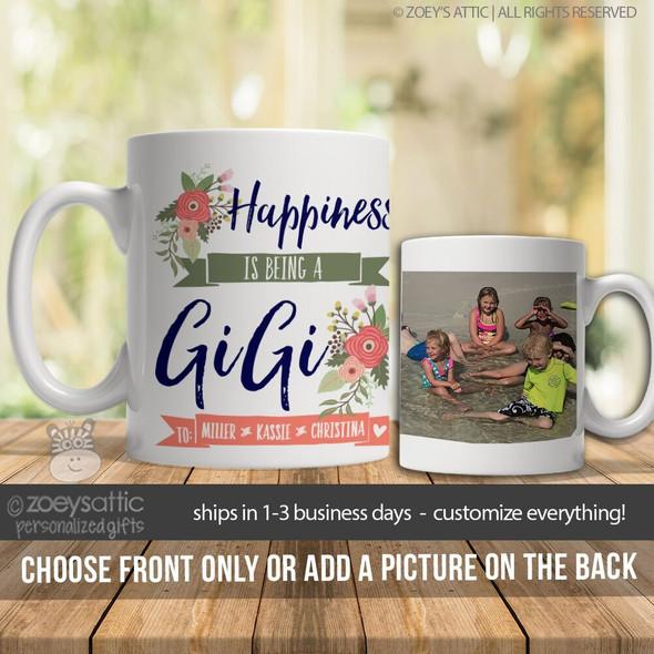 Happiness is being a gigi coffee mug