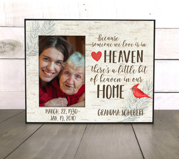 Someone we love memorial remembrance photo frame