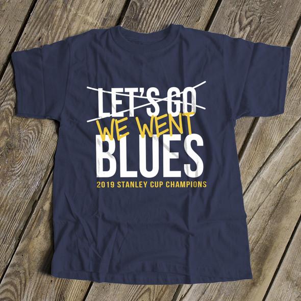 We went blues saint louis 2019 cup champion dark unisex Tshirt