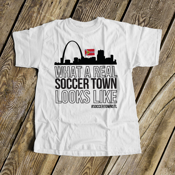 St. Louis soccer town unisex Tshirt