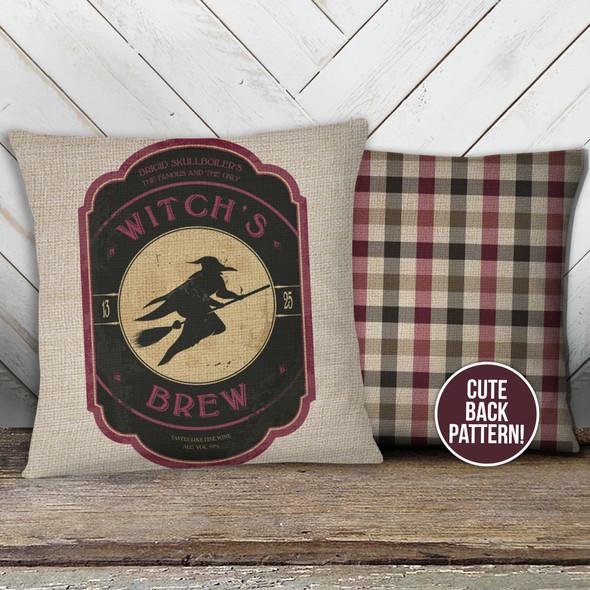 Halloween witch's brew pillowcase pillow