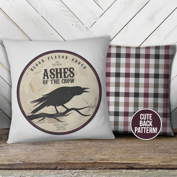 Halloween ashes of the crow pillowcase pillow
