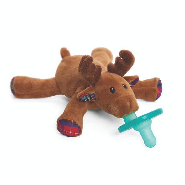 Reindeer pacifier by Wubbanub