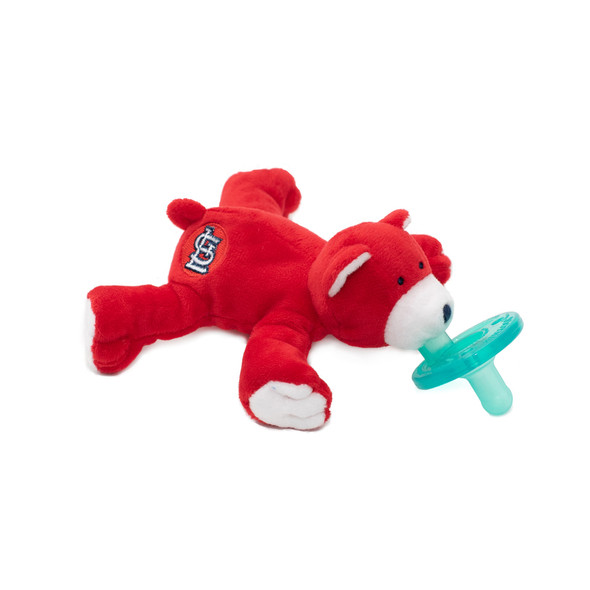 St. Louis Cardinals™ Bear pacifier by Wubbanub