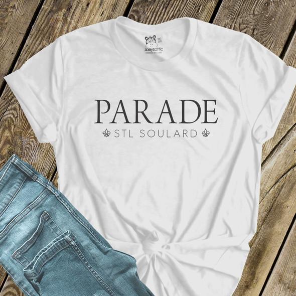 Mardi Gras parade stl soulard Tshirt