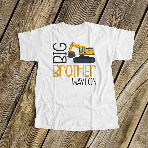 Big brother construction excavator Tshirt