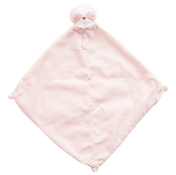 Pink Sloth Blankie Lovie by Angel Dear