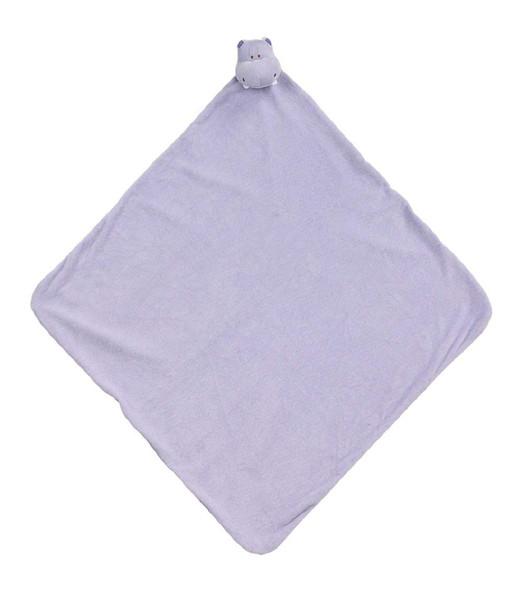 Purple Hippo Napping Blanket by Angel Dear