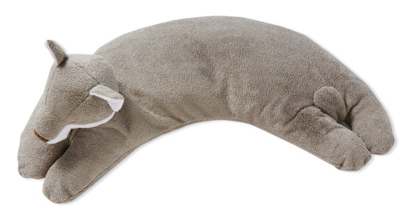 Grey Fox Curved Pillow by Angel Dear
