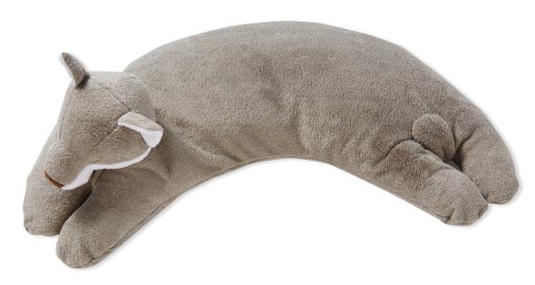 Grey Fox Curved Pillow by Angel Dear