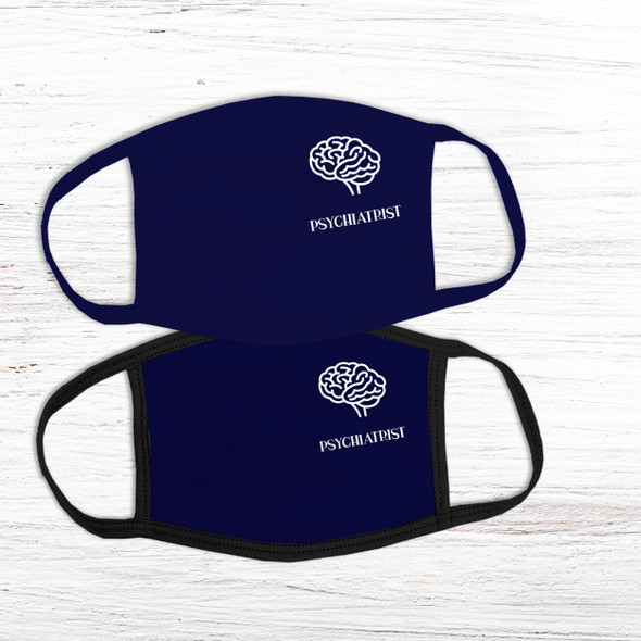 Psychiatrist doctor fabric face mask