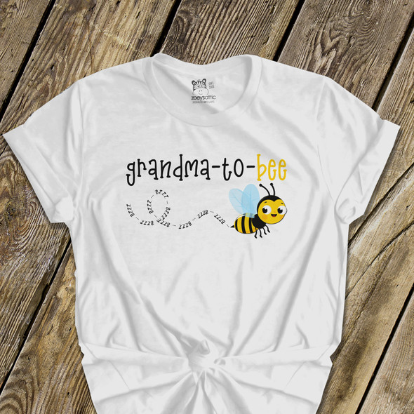 Grandma shirt grandma-to-bee pregnancy announcement custom Tshirt
