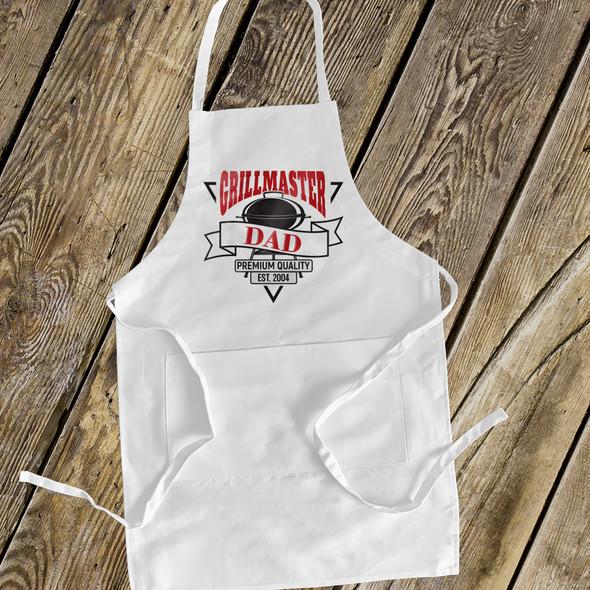 Grillmaster dad custom apron