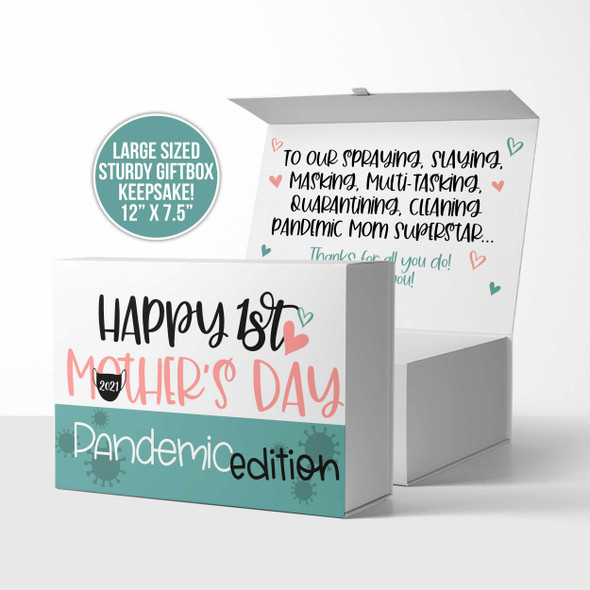 Happy 1st Mother's Day pandemic edition keepsake gift box