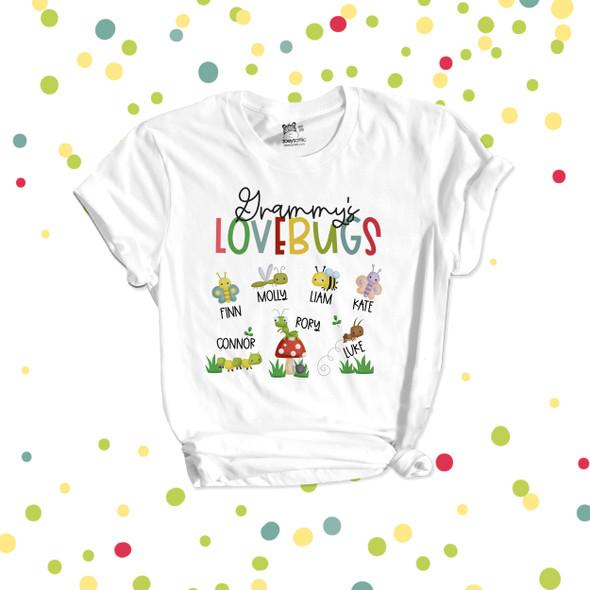 Grammy's lovebugs Tshirt